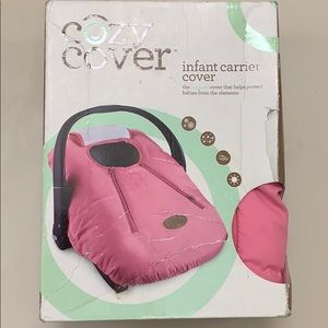 Cozy Cover Infant carrier cover Pink (NEW!!)